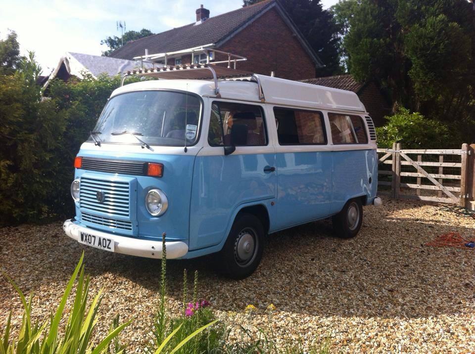 VW Campervan Bertie