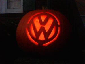 VW Logo Pumpkin