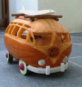Halloween VW Pumpkin