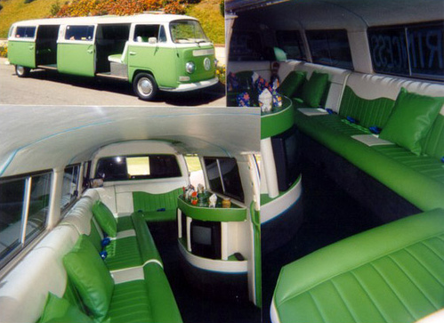 VW Bay Campervan limo
