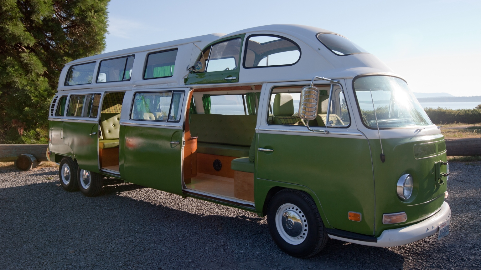 ... VW campers and a VW beetle. Seating up to to 12 passengers the limo is Vw Beetle 2014 Interior