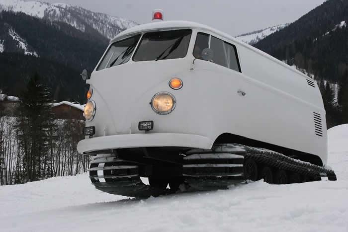VW Campervans in the Snow - VW Camper Hire Blog