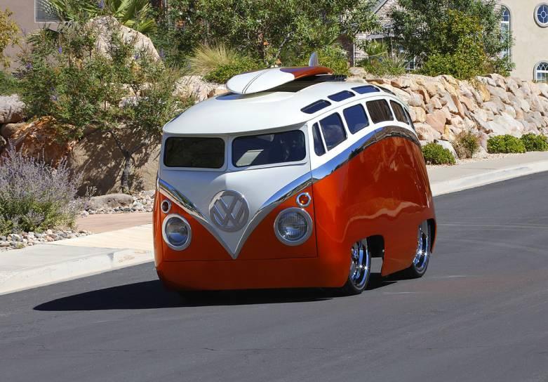 VW splitscreen Hotrod