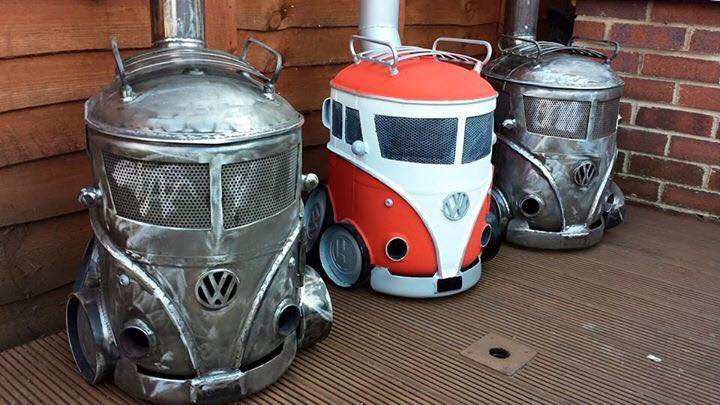 VW Campervan Log burners