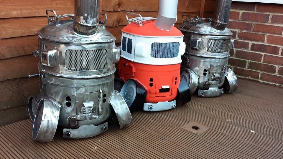 Campervan Log Burners