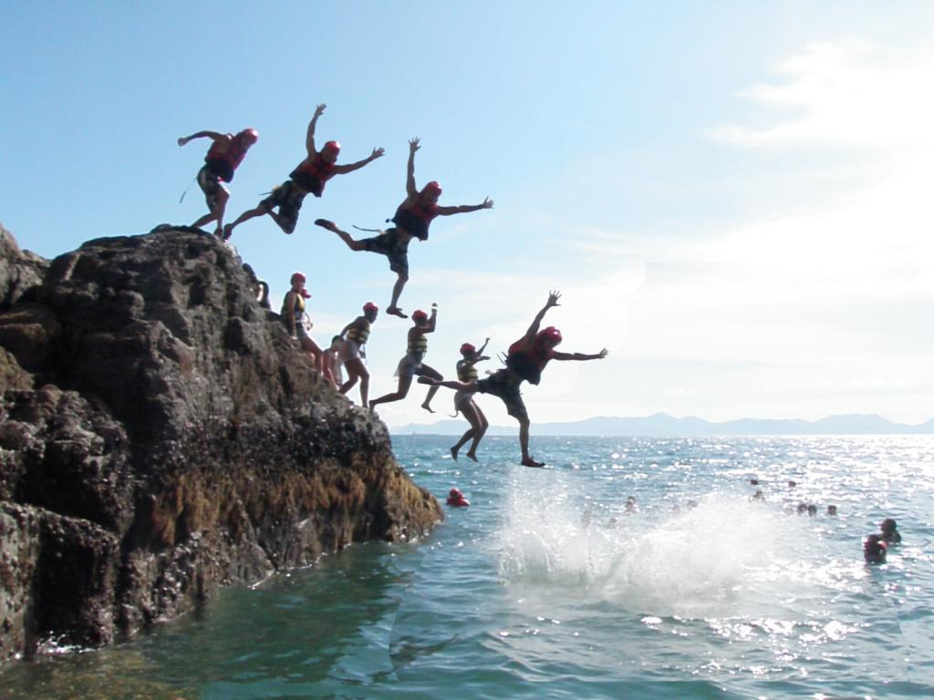 Coasteering uk