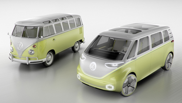 VW Campervan ID Buzz