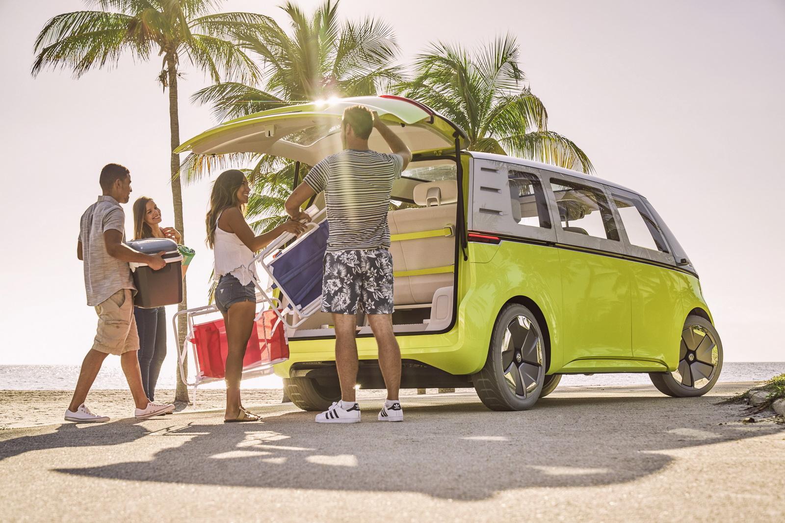 VW Campervan hire ID Buzz