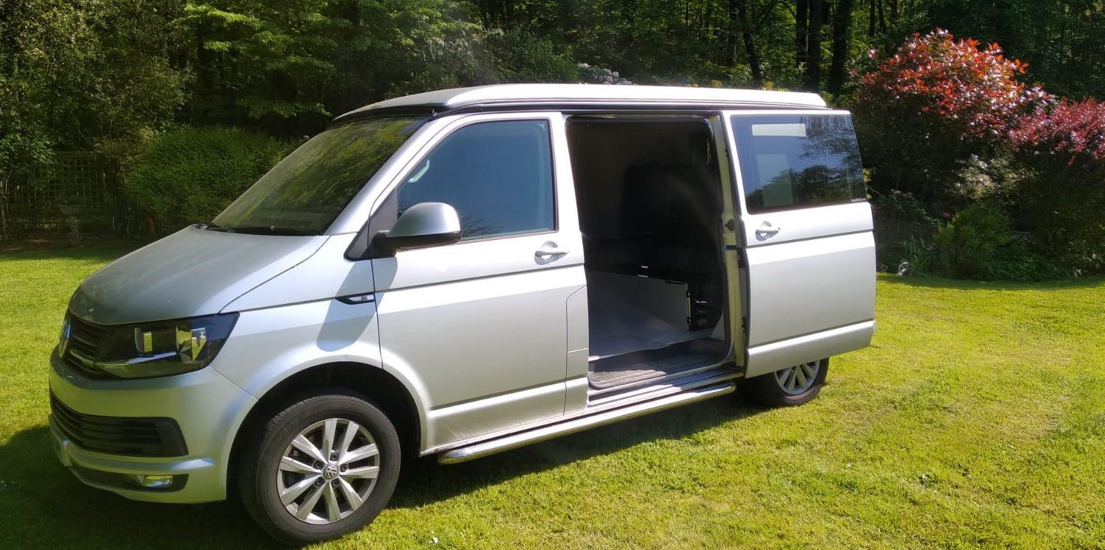 Meet Freddie -  the complete campervan