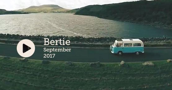 watch a VW Camper Hire road trip